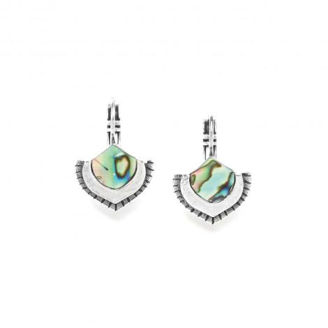 paua mini french hook earrings Mirja