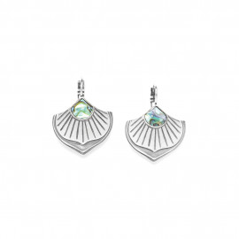 paua fan french hook earring Mirja - Ori Tao