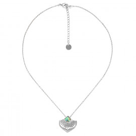 collier pendentif paua Mirja - Ori Tao