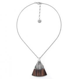 palmwood pendant necklace Palmier - Ori Tao