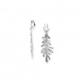 longues boucles d'oreilles clips Seaweeds - Ori Tao