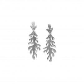 longues boucles d'oreilles poussoir Seaweeds - Ori Tao