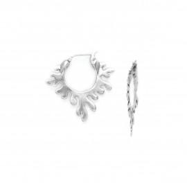 boucles d'oreilles créoles Seaweeds - Ori Tao