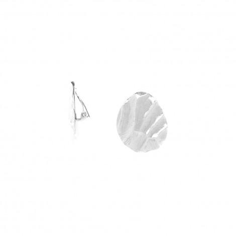 boucles d'oreilles clips Silex