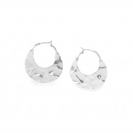 boucles d'oreilles créoles Silex - Ori Tao