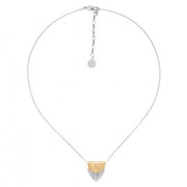 collier pendentif petite plume Silver feather - Ori Tao