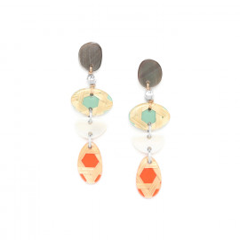 long earrings Cannage - Nature Bijoux