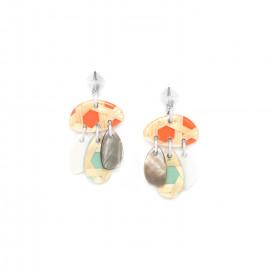 boucles d'oreilles 3 pampilles Cannage - Nature Bijoux