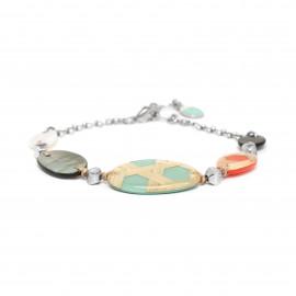 bracelet 5 éléments Cannage - Nature Bijoux