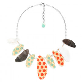 large necklace Cannage - Nature Bijoux