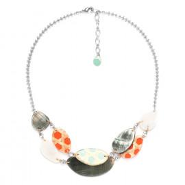 2 row necklace Cannage - Nature Bijoux