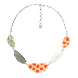five element necklace Cannage - Nature Bijoux