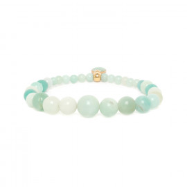 amazonite stretch bracelet Celadon - Nature Bijoux