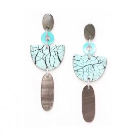 grandes boucles d'oreilles Curacao - Nature Bijoux