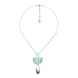 small blacklip drop necklace Curacao - Nature Bijoux
