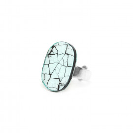 egg shell ring Curacao - Nature Bijoux