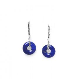 lapis lazuli ring earrings Fittonia - Nature Bijoux