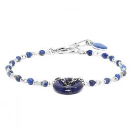 bracelet lapis lazuli Fittonia - Nature Bijoux