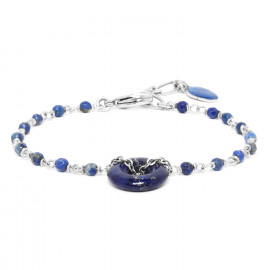 lapis lazuli bracelet Fittonia - Nature Bijoux