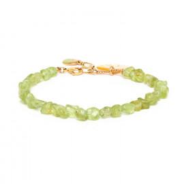 bracelet péridot Ginkgo - Nature Bijoux