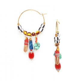 ethno creoles earrings Kali - Nature Bijoux