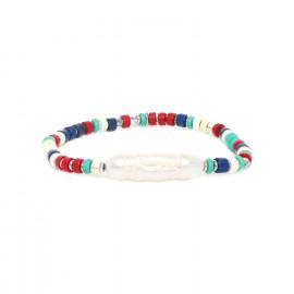 long pearl stretch bracelet Kali - Nature Bijoux