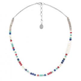 heishi & pearl necklace Kali - Nature Bijoux