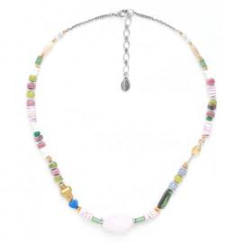 collier quartz rose Kali - Nature Bijoux