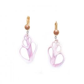 """Cebu beauty"" shell earrings Lagoon - Nature Bijoux"