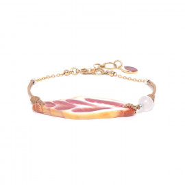 bracelet vexillum grenadine Lagoon - Nature Bijoux
