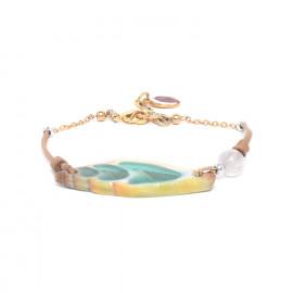 turquoise vexillum bracelet Lagoon - Nature Bijoux