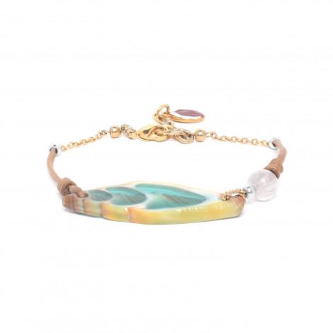 turquoise vexillum bracelet Lagoon