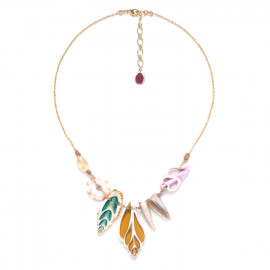 collier multi coquillages Lagoon - Nature Bijoux