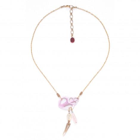 Cebu beauty necklace with dangles Lagoon