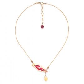 citrine & shell necklace Lagoon - Nature Bijoux