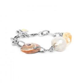 bracelet nautica, citrine & perle Makatea - Nature Bijoux