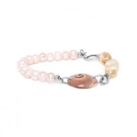 bracelet extensible ctrine et perle Makatea - Nature Bijoux