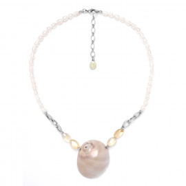 pearl necklace Makatea - Nature Bijoux