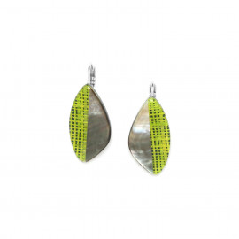 french hook earrings Mambe - Nature Bijoux