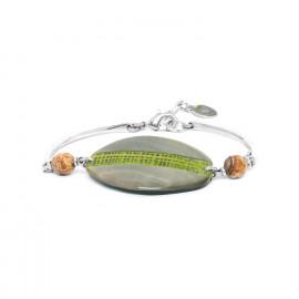 bracelet nacre noire Mambe - Nature Bijoux