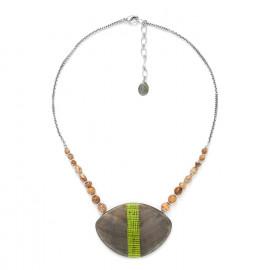 collier grand pendentif Mambe - Nature Bijoux