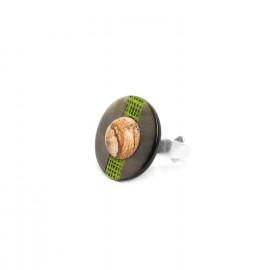 bague ronde Mambe - Nature Bijoux