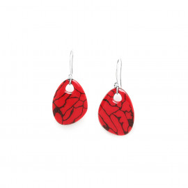 boucles d'oreilles crochet Manakara - Nature Bijoux