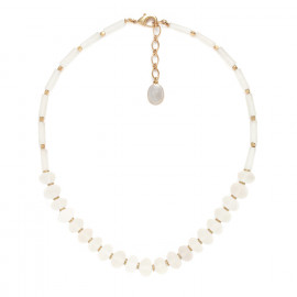collier cristal de roche faceté Ombre et lumiere - Nature Bijoux