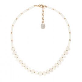 faceted rock crystal necklace Ombre et lumiere - Nature Bijoux