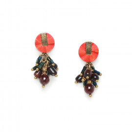 grape earrings Pigments - Nature Bijoux
