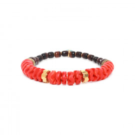stretch bracelet Pigments - Nature Bijoux