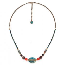 larimar necklace Pigments - Nature Bijoux