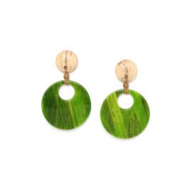 small gypsy earrings Raphia - Nature Bijoux