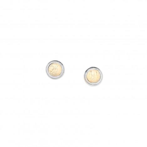 small tamarind post earrings Raphia